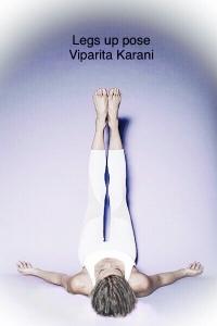 Legs up pose - Viparita Karani